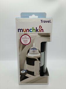 Munchkin Travel Bottle Warmer w/ Digital Display & Car Adapter - BPA Free