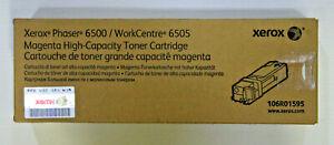 Xerox Phaser 6500 WorkCentre 6505 Magenta Hi-Capacity Toner Cartridge 106R01595