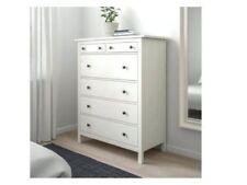 ikea hemnes six drawer chest satin white
