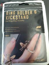 MVMT (1) Bee & (6) Rose Gold Ring Holders & Kickstand for Smartphones