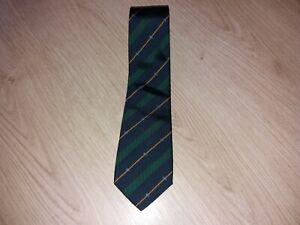 BURBERRYS silk tie made in England