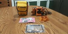 Vintage Canon AS-6 Underwater Film Camera With Bag & Manual Very Nice!!
