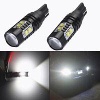 2PCS 50W T10 T15 CREE 906 912 921 LED 6000K HID White Backup Reverse Lights Bulb