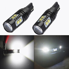 2x 50W CREE 921 906 912 T10 T15 LED 6000K HID Backup Reverse Lights Bulb White