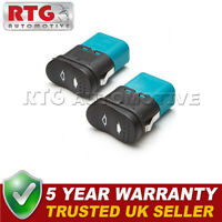 2X ELECTRIC POWER WINDOW SWITCH BUTTON FOR FORD TRANSIT MK7 2006 On FRONT