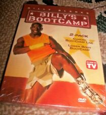 NEW! Billy Blanks Billy's Boot Camp 2 DVD Cardio Boot Camp Live & Lower Body