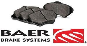 BAER Brake System Rear Sport Brake Pads - Pair for 2007-2017 Jeep Wrangler JK