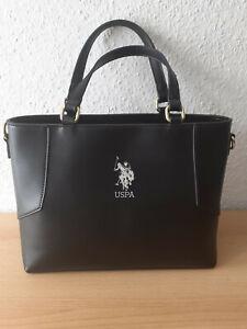 U.S. Polo Handtasche Cheyenne schwarz