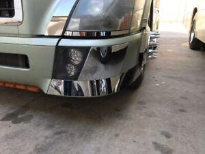 Volvo Vnl Inner Bumper Trim 2003+ Stainless Steel - Pair # 14814