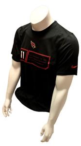 Nike Dri Fit Men's Arizona Cardinals Larry Fitzgerald Short Sleeve Shirt NFL