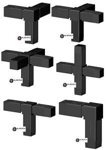 ALU-Steckverbinder für 30x30x2mm Profile