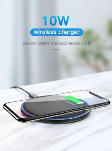 Wireless Charger Pad For iPhone  Samsung work with case FREE SHIPPING