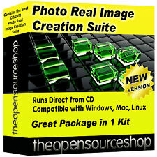 Photo Real Image Creation Suite - Learn Computer Graphics!