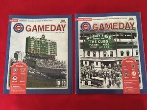 2014 MLB Chicago Cubs Game Day program / You pick 'em / Wrigley Feld centennial