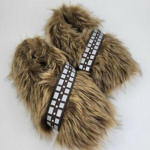 Star Wars Chewbacca Chewbacca Wookie Fur Feet Slippers Lucas Film Sz 12/13 Adult