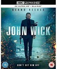 John Wick 4K Ultra HD High Definition UHD + Blu-ray (New Sealed 4K)