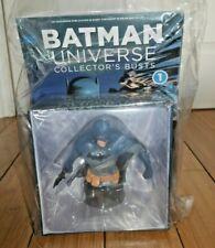 * SEALED * DC BATMAN UNIVERSE COLLECTORS BUST & MAGAZINE ISSUE #1 EAGLEMOSS G793