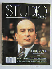 STUDIO magazine  N° 8  / Robert De Niro/J.L.Mankiewicz/C.Lambert/M.Cimino