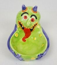 Ganz Monster Ceramic Candy Dish Creature Silly Goofy Funny Halloween Decoration