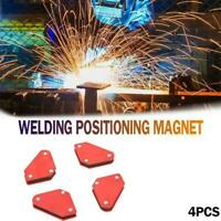 4x Welding Magnet Magnetic Square Welder Holder Arrow Clamp 135° 45° 9L B2D R1R1