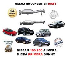 FOR NISSAN 100 200 ALMERA MICRA PRIMERA SUNNY NEW CATALYTIC COVERTER CAT