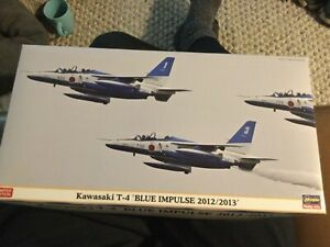 Hasegawa 1/48 Kawasaki T-4 Blue Impulse 2012/2013 07341