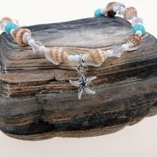 Starfish Beach Foot Chain Conch Sandal Anklets Turquoise Bracelet Jewelry Gift