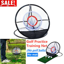 Outdoor Pitching Chipping Cage Golf Net Mats Indoor Practice Game Training Aids