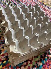 20 Flat Empty Egg Cartons Paper Trays