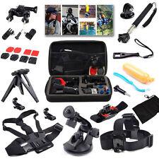 15 in 1 Accessories Set Kit for GoPro Hero 4 3+ 3 2 SJcam SJ4000 Sports Camera
