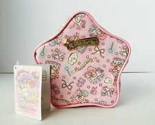 Rare! Little Twin Stars Pink Makeup Pouch Japan Exclusive