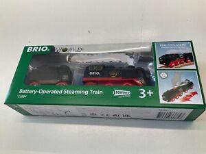 Brio 33884 steaming train.  Box opened & working