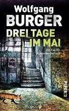 Drei Tage im Mai von Wolfgang Burger (2015, Taschenbuch)