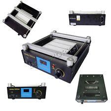 853A  600W SMD PCB Preheater bga Rework Station Preheating Oven Station 50Hz