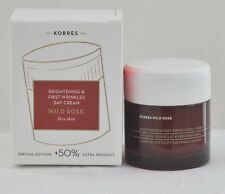Korres Wild Rose Day Cream Special Edition +50% Extra Product Dry Skin 60 ml