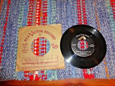 """THE AMES BROTHERS Addio"""" """"The Naughty Lady Of Shady Lane RCA  47-5897 VG+ / VG+"""