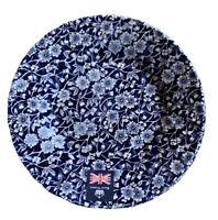 Royal Wessex Churchill China England CALICO BLUE Salad Plates- Set Of 4