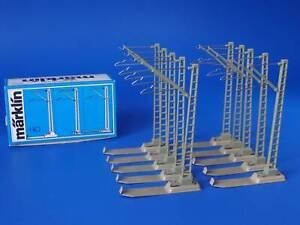 MARKLIN H0 - 7009 - 10x Catenary Mast / BOX - LN