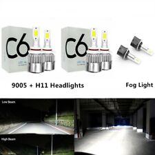 Bulbs For Chevy Suburban 2000-2006 Tahoe 2001-2006 LED Headlight + Fog Light Kit