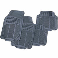 Universal Rubber Car Mats Heavy Duty 4 Piece Set