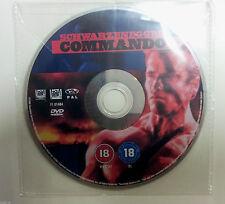 Commando DVD R2 PAL - Arnold Schwarzenegger - DISC ONLY