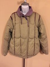 Vintage Woman's Fox Run Down Jacket Size Small Gale Gould