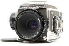 【N.MINT】 Zenza Bronica S2 Medium Format Nikkor P.C PC 75mm f/2.8Rare Lens  JAPAN