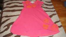 BOUTIQUE BABY LULU 4 PINK DRESS TWIRL STYLE W/ FLOWERS