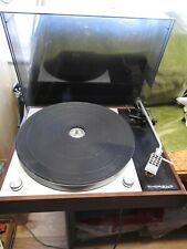 Thorens TD 150 Mk2 Turntable Record Deck Shure M55E Tested for power