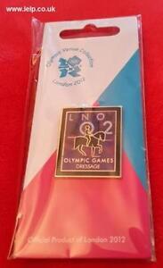 Olympics London 2012 Venue Sports Logo Pictogram Pin - Dressage - code 1737
