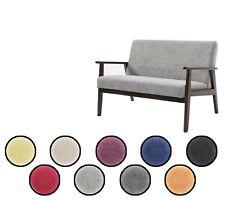 Скандинавский ретро-дизайн 2/3 местный диван ткань лен ванна стул домашнего офиса
