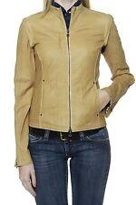 Jacken aus Leder mit Reißverschluss für die Freizeit