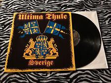 ULTIMA THULE Sverige LP Oi viking rock Sweden Perkele Hel Agent Bulldogg