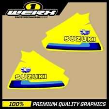 SUZUKI RM250 RM400 1979 - 1980 TANK GRAPHICS STICKERS EVO MX DECALS OEM 1980 JT